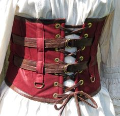 Darions Masquerade Steampunk Wench Belt van CurvyWench op Etsy, $79.00