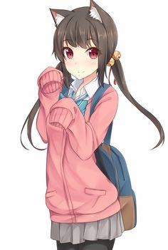 anime,shuuichi,neko,animal ears,Anime Original,nekomimi