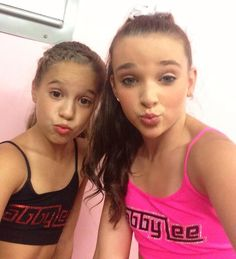 Mackenzie and Kendall! #Dancemoms #Dance #Mackenzieziegler #Kendallvertes