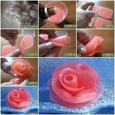 How to make soap flowers internet tutorial instructions how to how to do diy instructions crafts do it yourself diy website art project ideas howtomakesoap Homemade Candles, Diy Candles, Savon Soap, Soap Tutorial, Soap Carving, Soap Making Supplies, Homemade Soap Recipes, Glycerin Soap, Soap Molds