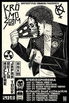 Alexander Heir - Kromosom Japanese tour starts this week!