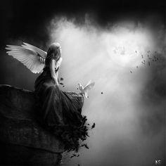 gothic angel art | Tumblr