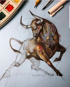 incredible animal sketches by psdelux no copyright infringement intended contact to fix remove 50433 Animals drawings Animal Sketches, Animal Drawings, Drawing Sketches, Cool Drawings, Tattoo Sketch Art, Skull Sketch, Pencil Sketching, Amazing Drawings, Pencil Art