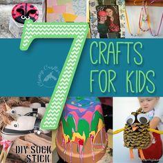 7 crafts for kids