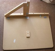 Norbo WALL-MOUNTED DROP-LEAF TABLE inner workings for DIY -  - #woodworking