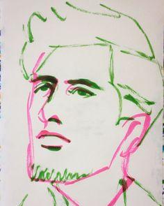 いいね!11件、コメント1件 ― @1mindrawのInstagramアカウント: 「#1mindraw #amedeomodigliani #アメデオモディリアーニ #18840712 #birthday #誕生日 #portrait #筆ペン画」