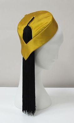 Hat (image 2) | Charles James | American | late 1940s | silk | Metropolitan Museum of Art | Accession #: 2013.390