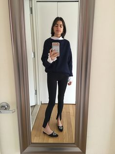 Leandra takes mirror selfies for 30 days