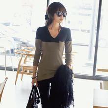 REDOPIN - Color-Block T-Shirt