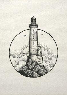 inspiration lighthouse light cloud drawing Cloud draw drawing Inspiration Light Lighthouse is part of Stippling art - Cool Art Drawings, Pencil Art Drawings, Art Drawings Sketches, Tattoo Drawings, Tattoo Sketches, Simple Drawings, Stylo Art, Cloud Drawing, Drawing Drawing