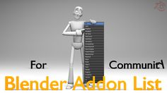 Blender Addon List