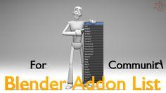 Blender Addon List