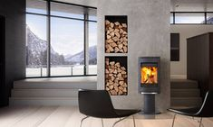 Clean burners: Wood-burning fireplaces that are as stylish as they are efficient - The Globe and Mail