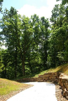 The newly opened (July trail from Compton Gardens to Crystal Bridges, Bentonville, AR Cave Spring, Eureka Springs, North West, Arkansas, Bridges, Planting, Montana, Places Ive Been, Paths