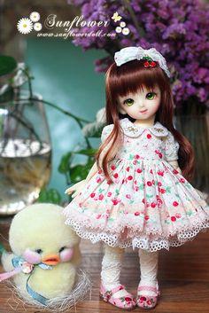 【完售感谢】1/6 yosd 夏季洋装◆Sweet Cherry◆(两色可选)-淘宝网全球站