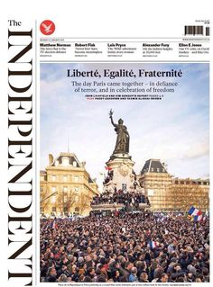 La presse rend hommage à la mobilisation française La Marche du Dimanche 11 Janvier : 4 millions de Français dans les rues de France