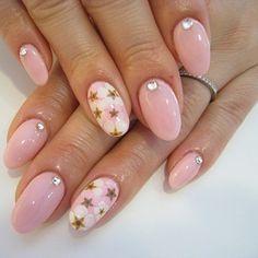 diamond Nail Designs | Nail Designs: Cute Pink (#GN101, #GN102, #GN103)