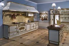 Cucina completa in metallo con accessori di cottura- Restart Kitchen ...