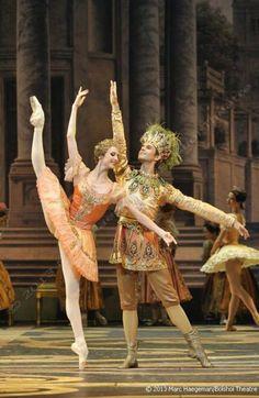 "Svetlana Zakharova & Karim Abdullin from ""The Sleeping Beauty"""