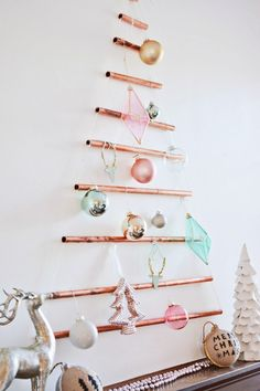 DIY Marbled Copper Star Decorations Fimo Craft And Star Decorations - Diy copper stars for christmas decor