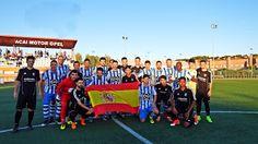 Equipo de fútbol de Guadalajara (España): EL HOGAR ALCARREÑO-ACAI MOTOR DERROTA AL LÍDER, TA...