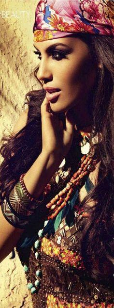 Bohemian Gabriela-Bertante-Vogue-India ♥✤ | KeepSmiling | BeStayClassy