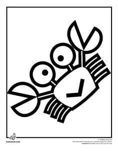 keroppi coloring pages for toddlers preschoolers keroppi crab coloring page cartoon