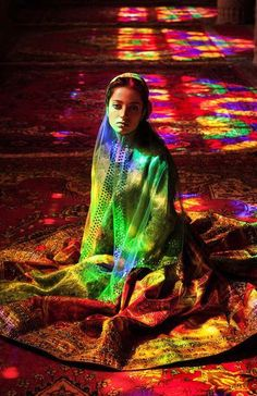 Nasir al-Mulk, Shiraz, Iran. - Romanian photographer Mihaela Noroc set out to prove how beauty crosses borders and cultures in her series called The Atlas of Beauty. In it, she captures ordinary women from different countries.