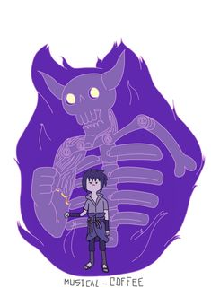 Sasuke Susanoo - Adventure Time style by Musical-Coffee on DeviantArt