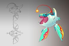 Elisa Kwon, an illustrator and character designer