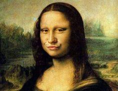 Where duck face originated. M-Lisa
