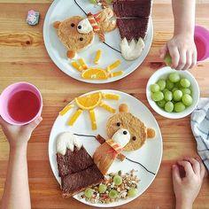 Giocare con il #cibo! (Samantha Lee) #Food #FoodArt #Foodie #FoodPorn #ricette