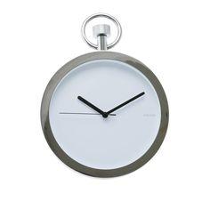 Present Time Pocket Watch Wall Clock @ Little Black Bag