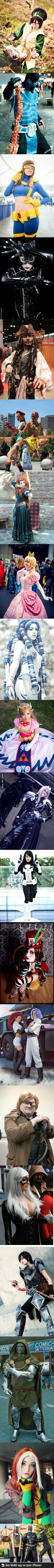 Cosplay you're doing it right