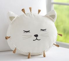 Emily & Meritt Decorative Pillows | Pottery Barn Kids                                                                                                                                                                                 More
