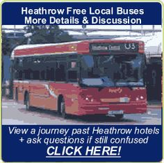 Official Heathrow Airport hotel transfer buses charge a full price. However, many Heathrow Hotels you can reach FREE of charge using red London buses Airport Hotel, Heathrow Airport, London Bus, Journey, Free, The Journey