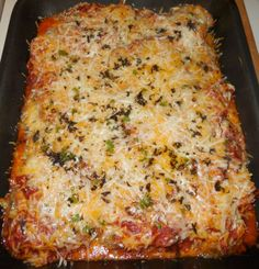 Egglant parmesan with home made marinara  http://thegardeningcook.com/eggplant-parmesan-with-home-made-marinara-sauce/