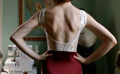 Burgundy N' Lace Leotard by LoneReedDesigns on Etsy