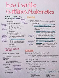69 Ideas School Organization Highschool Note Taking Tips - Schule Ideen High School Hacks, Life Hacks For School, School Study Tips, Back To School Tips, Middle School Hacks, School Life, School Ideas, College Notes, College Essay