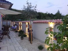 Unsere Wandlampen Candela Led, Pergola, Outdoor Structures, Architectural Materials, Arbors