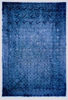 D-5.Dec.1996paper making, painting, collage(knitted the paper, tied the paper strings)林孝彦 HAYASHI Takahiko 1996