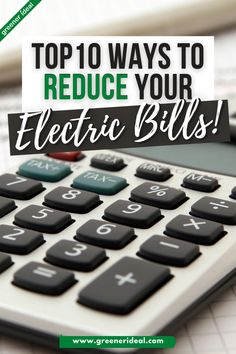Tired of high electricity costs at home? Searching for the easiest way to make cheap electric bills? The easy answer is to simply reduce your consumption! But there are other ways you can achieve that! Check out these Top 10 Ways to Get Cheap Electric Bills, Now! #Energy #EnergyCost #HeatingCost #Utility #UtilityBill #SaveMoney #EnergySavingTips #Ecofriendly #GreenLivingTips #GoGreen Healthy Living Recipes, Green Living Tips, Energy Saver, Science Fair Projects, Eco Friendly House, Alternative Energy, Sustainable Living, Searching