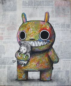 Street art by Dran