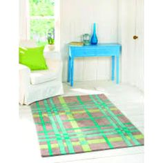 Teal and Green Rug 160x230 cms - Fresh, Vibrant and Cool - this rug is a real stunner, ONLY £139 !!