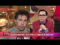 """Gustavo Martínez: """"Pido que dejen en paz a Ricardo Fort"""" Peace, Couples"""