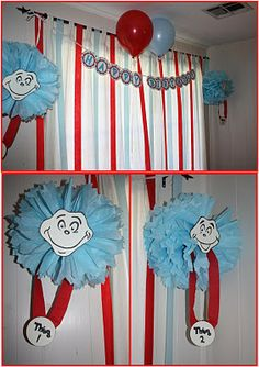Thing 1 & Thing 2 {from Megan's party}
