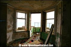Torr Head coast guard station,County Antrim,Northern Ireland, was built on the site of a traditional fort belong to Barrach, one of the Red Branch warriors. The coastguard station was built in 1822 and also acted as a Lloyd's Signal Station for North Channel shipping. The station was abandoned in the 1920s.