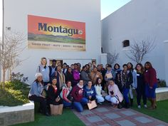 Our amazing sales staff from around SA in Montagu for training - aren't they a good looking group?