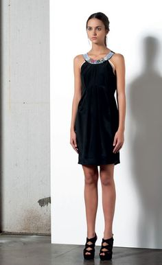 Look 77 . 331 Abito / Dress . 216P Scarpa / Shoes