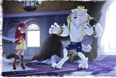 Plot twist: Daring Charming is the new (and confirmed) Beast for Beauty and the Beast!